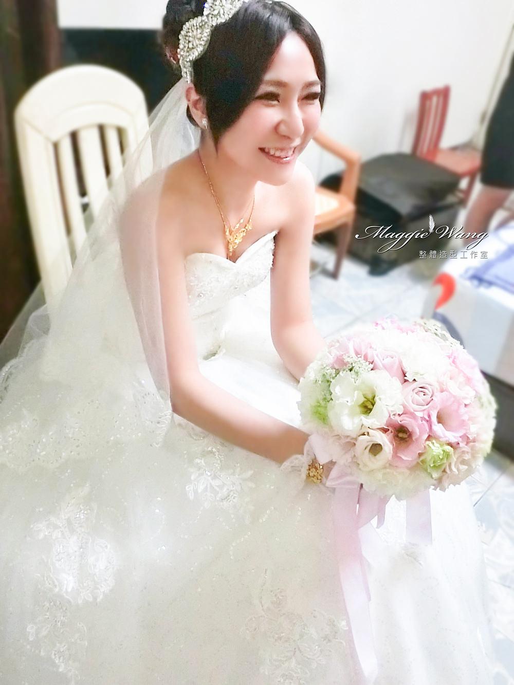 白紗迎娶造型