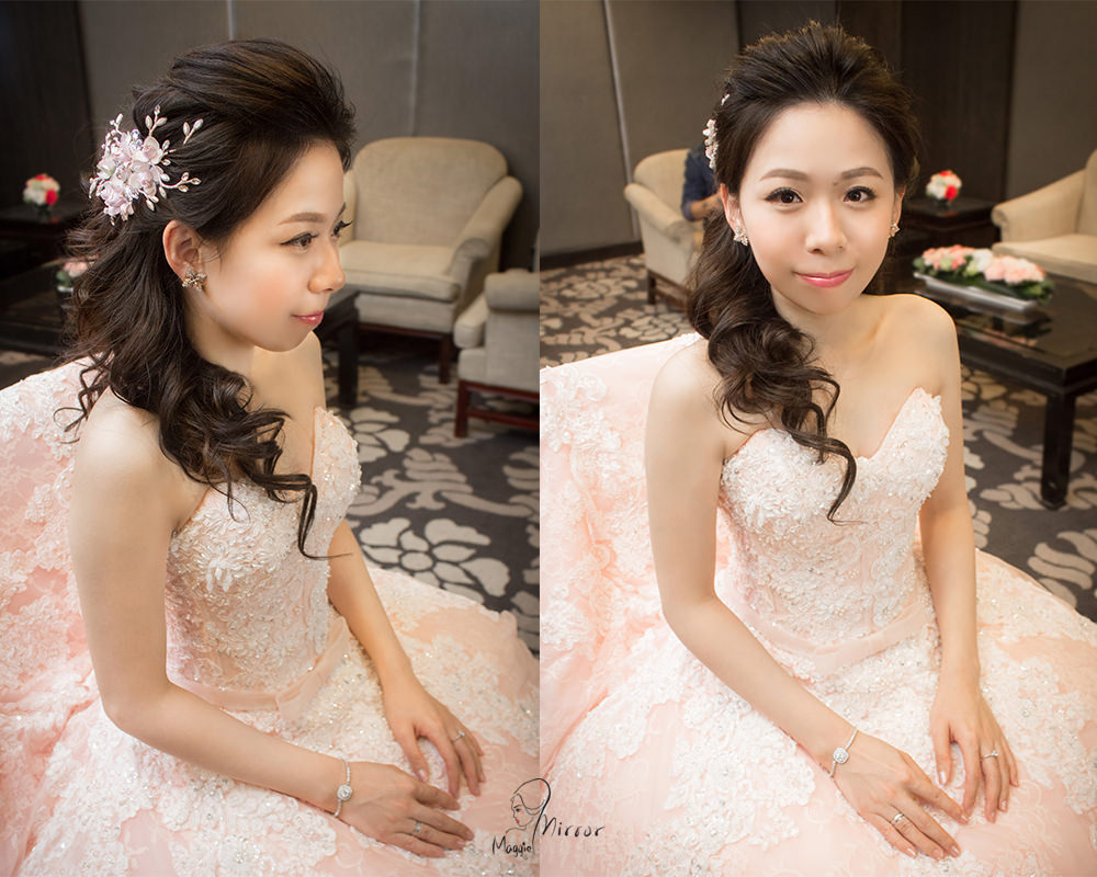 公主頭新娘造型