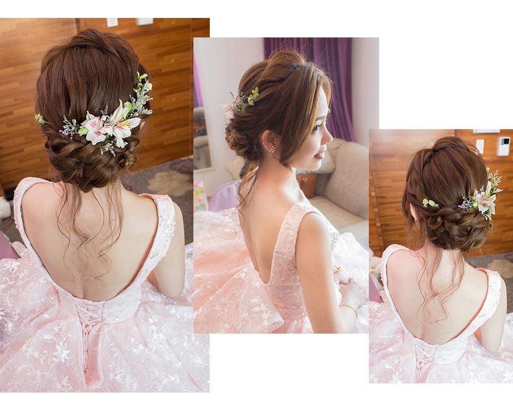 新娘鮮花造型