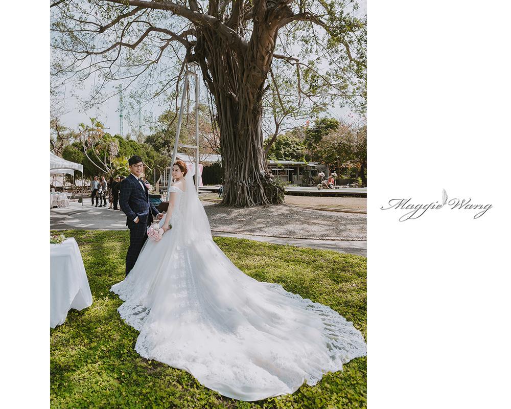 戶外婚禮造型