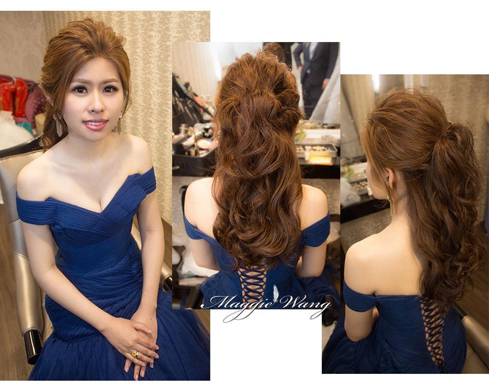 公主頭編髮造型