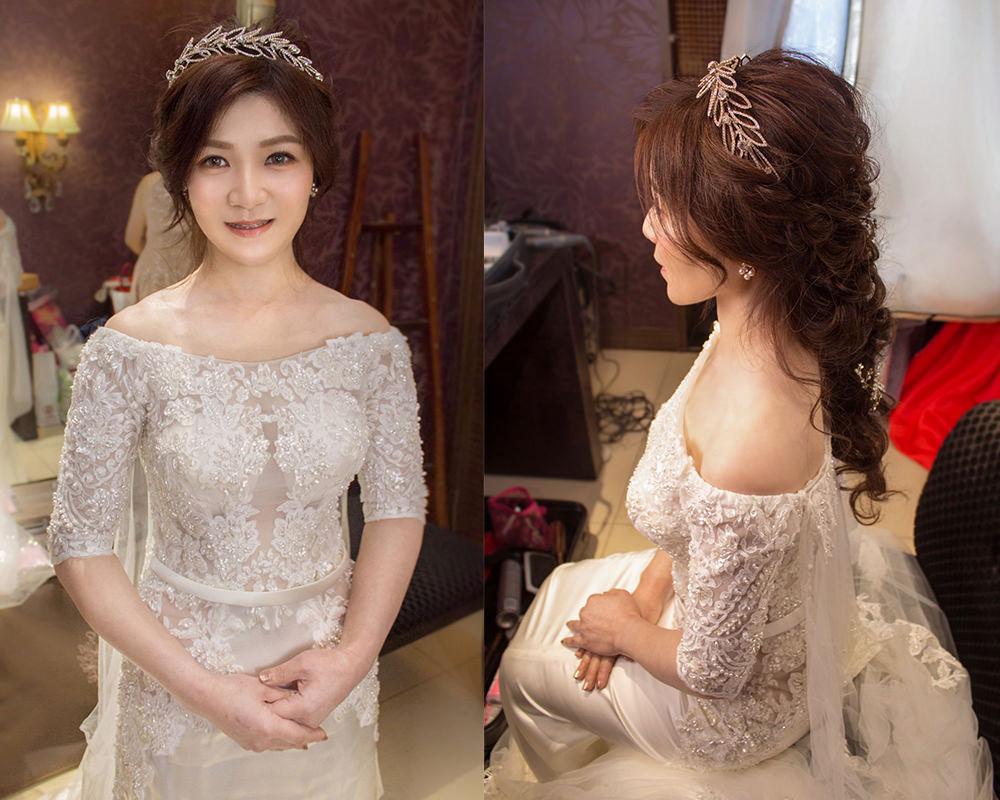 新娘長髮造型