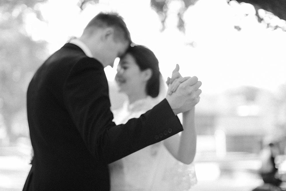 美式證婚造型