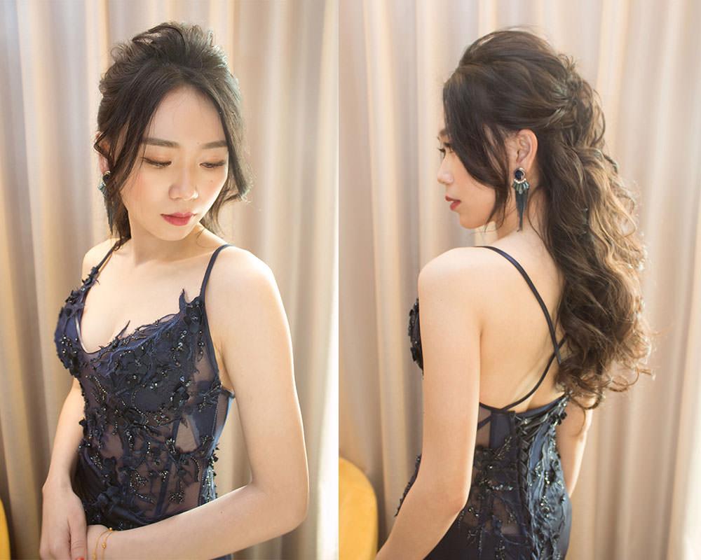 時尚新娘造型