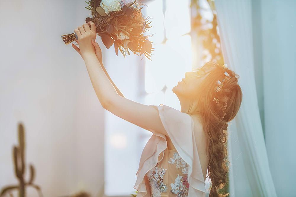 新娘婚紗造型