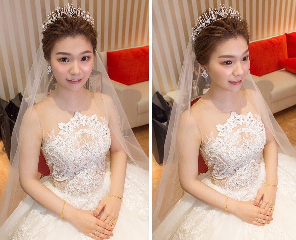 新娘皇冠造型