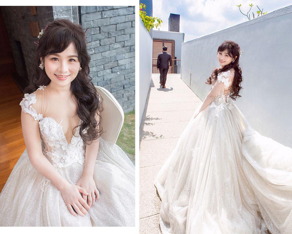 證婚白紗造型