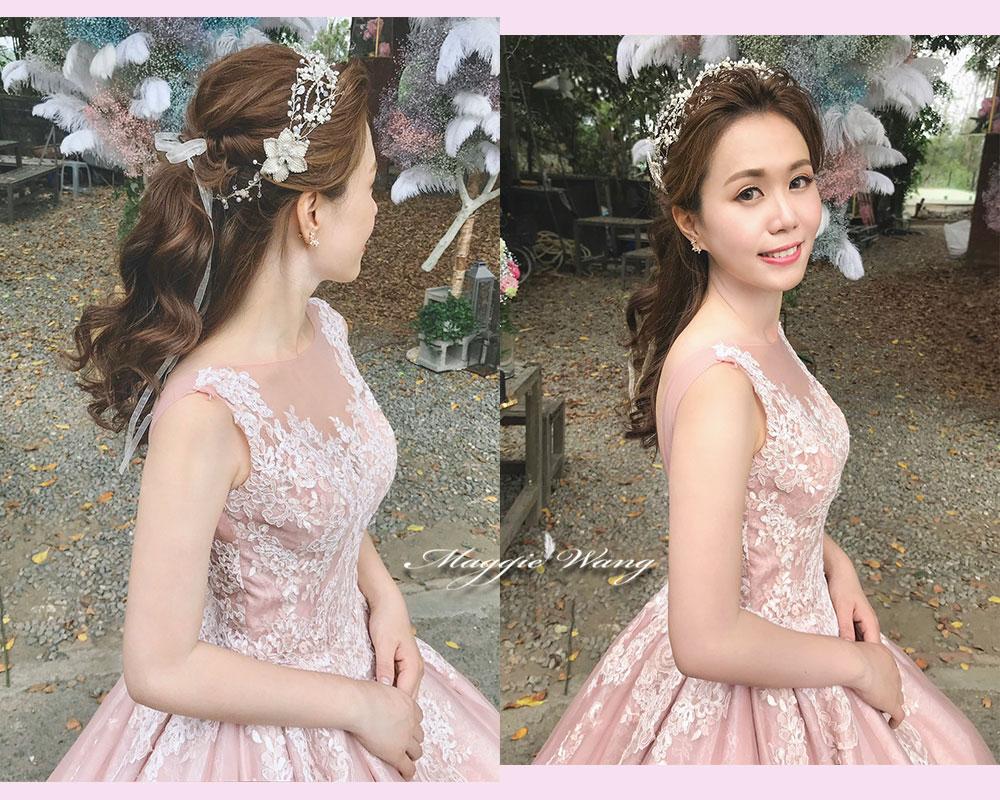 新娘公主頭
